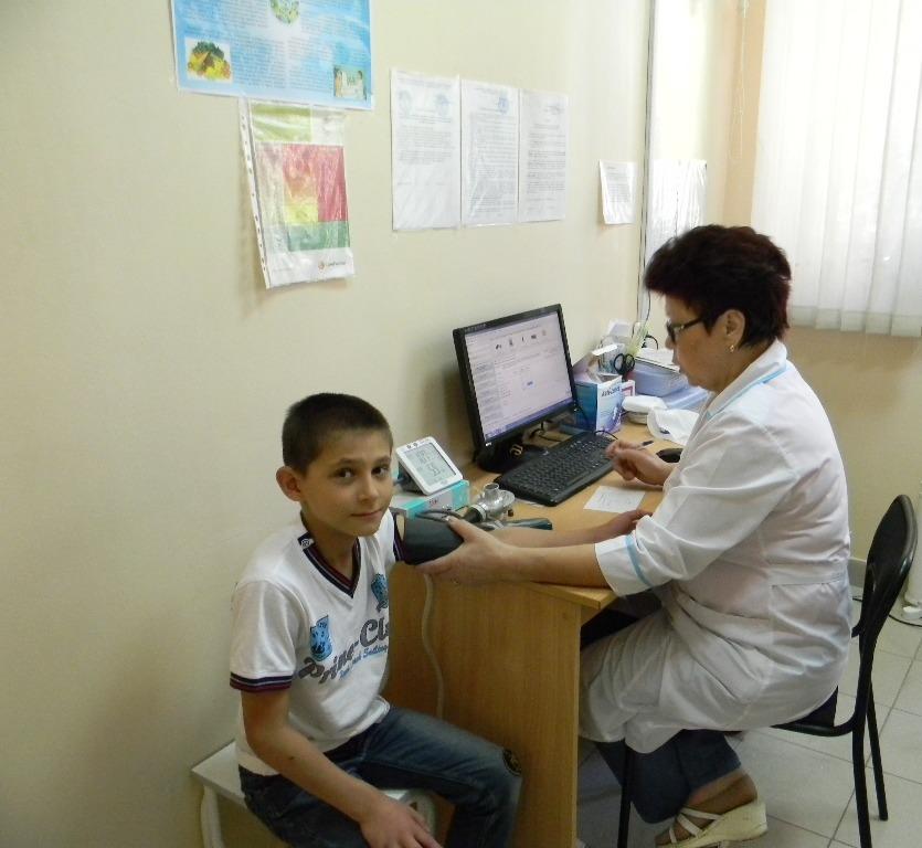 Организация работы структуры поликлиники